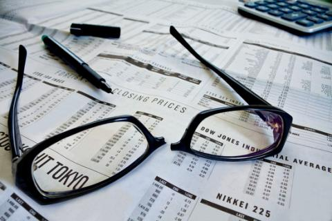 Broken Glasses from Business Stress