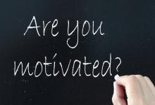 Are you motivated?